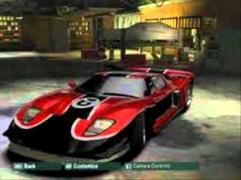 50 Cent - In da Club ' (NFS Most Wanted VS NFS Carbon Cars )